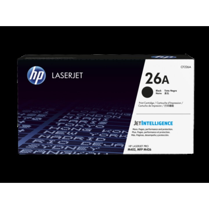 Kартридж Hewlett-Packard HP 26A для HP LaserJet M402/M426 (CF226A) (3100 стр.)