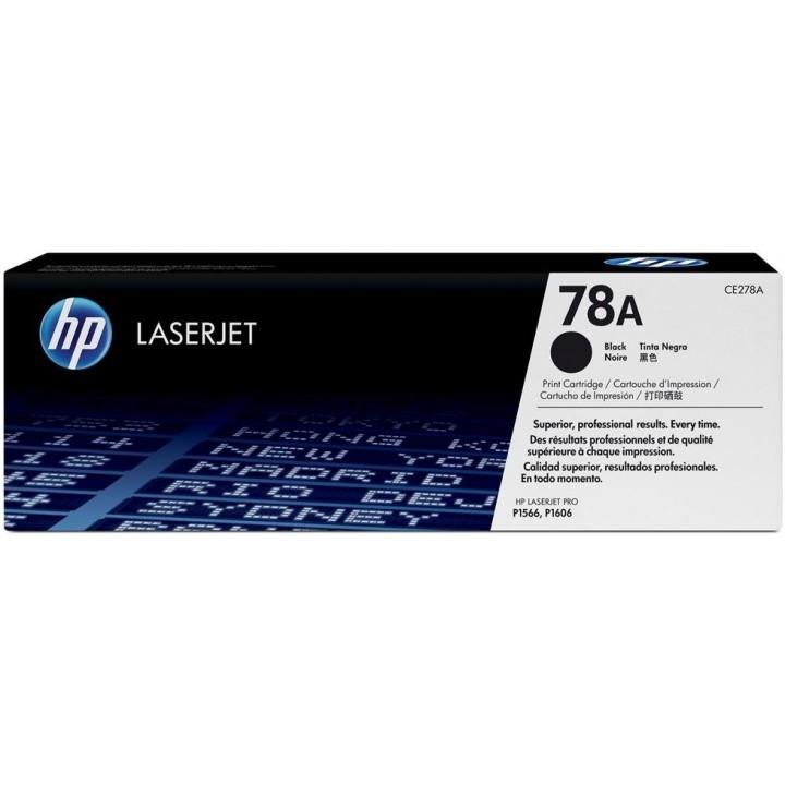 Картридж HP LJ P1566/P1606w/M1536 (2100 pages) [ CE278A ] черный