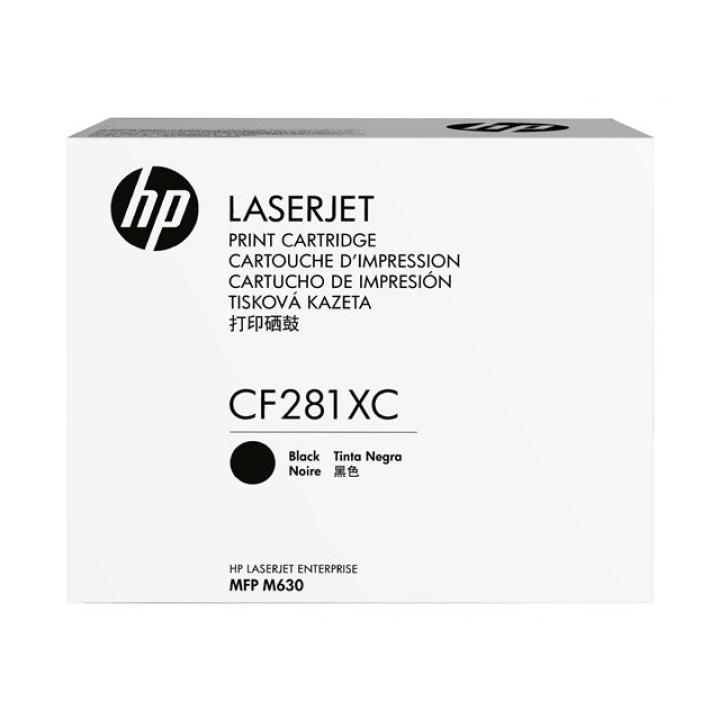 Kартридж HP 81X Black LaserJet Pro M605/606/630 (CF281XC)  25000 стр.