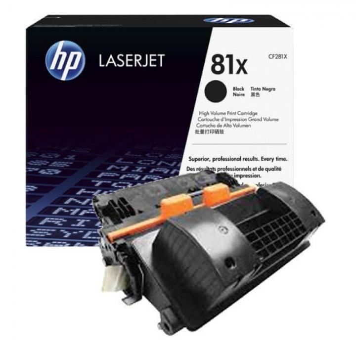 Kартридж HP 81X Black LaserJet Pro M605/606/630 (CF281X)  25000 стр.