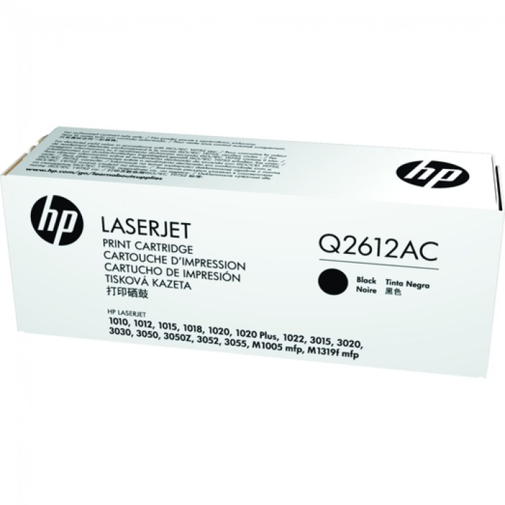 Картридж HP LJ1010/LJ1020/ LJ3050 2000 стр. (o) Q2612AC