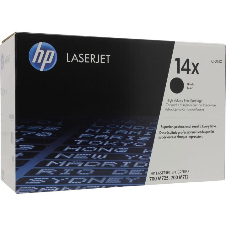Картридж HP LJ 700/MFP M712/M725, черный (17500 стр) (о) CF214X