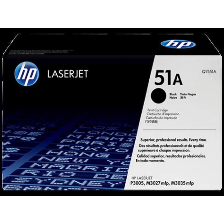 Картридж HP LJ P3005/ M3035/M3027 6500 стр. (o) Q7551A