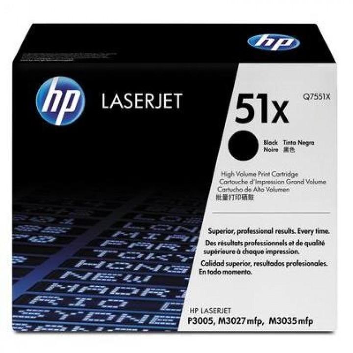 Картридж HP LJ P3005/ M3035/M3027 13000 стр. (o) Q7551X