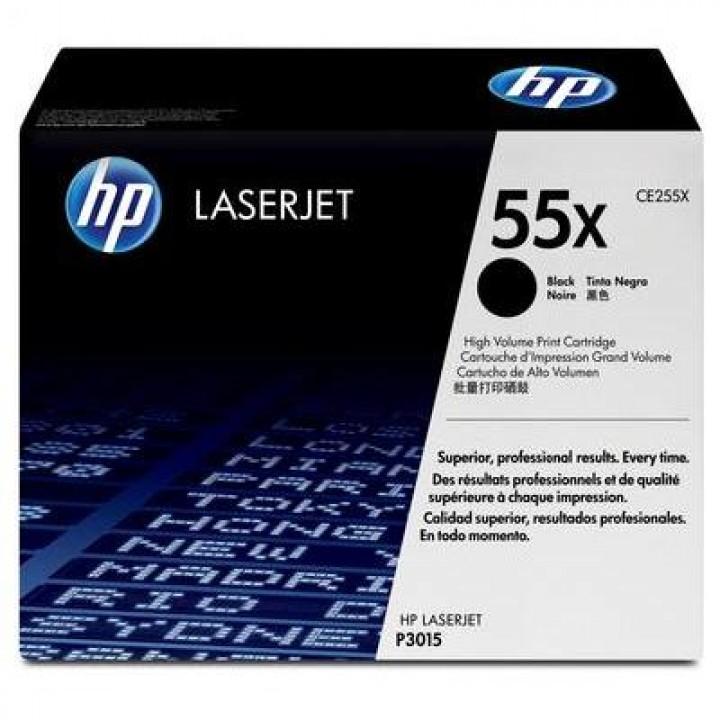 Картридж HP LJ P3015/M525/M521 CE255X 12500 стр. (о)