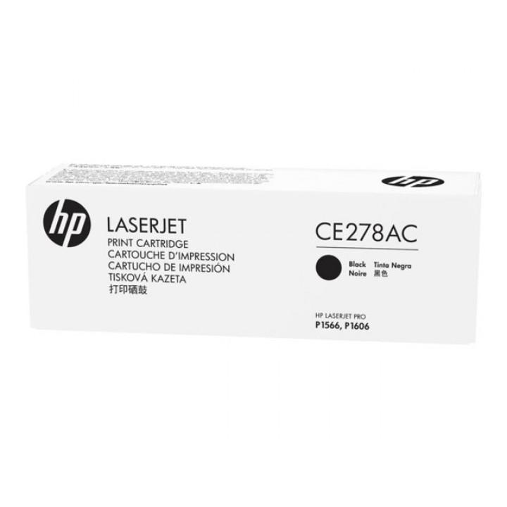 Картридж HP LJ P1566/P1606w/M1536 (2100 pages) CE278A  черный