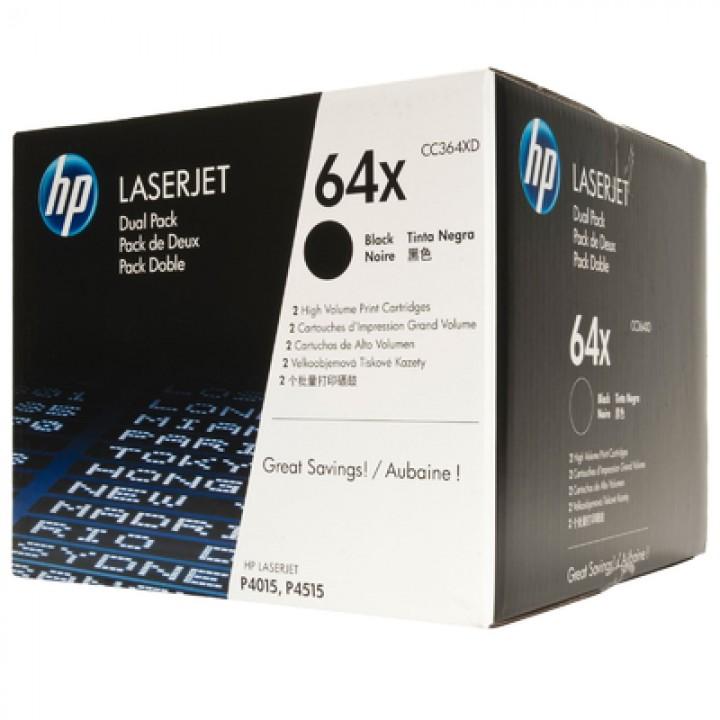 Картридж CC364XD HP LaserJet P4015/P4515 Black  High Capacity 24К (o) (2 шт.в упаковке)