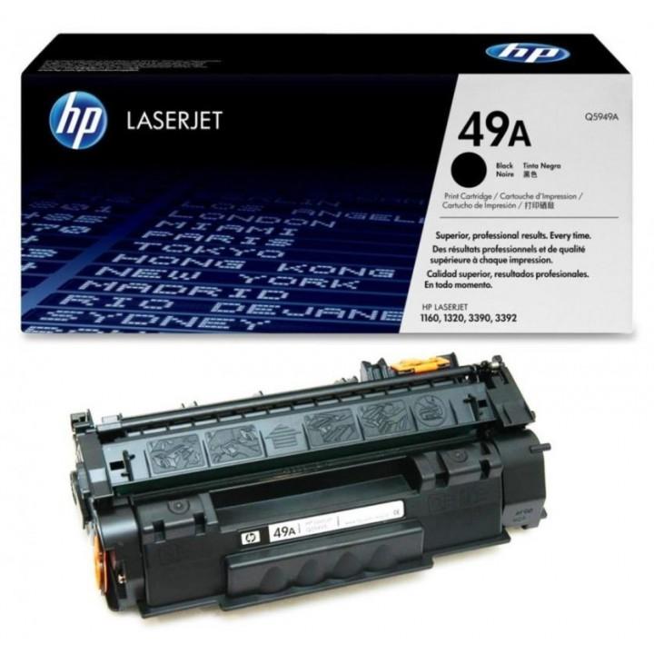 Картридж HP LJ1160/LJ1320/ LJ3390 2500 стр. (o) Q5949A