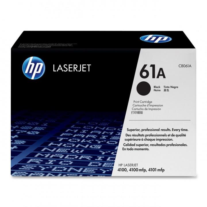 Картридж HP LJ4100 5000 стр. (o) C8061A