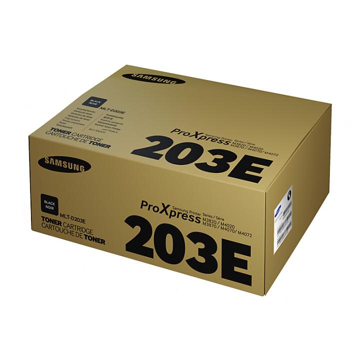 Тонер-картридж Samsung MLT-D203E/SEE  для SL-M3820/4020/3370/3870/4070  (10000 страниц)
