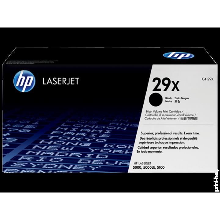 Картридж HP LJ5000/LJ5100 10000 стр. (o) C4129X