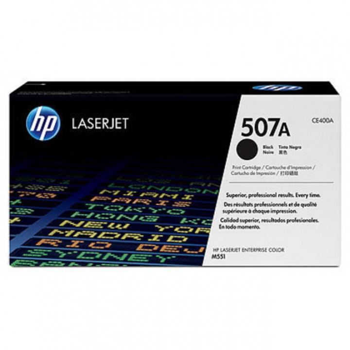 HP 507A Картридж для LaserJet M551/M570/M575 черный (CE400A), 5500 стр.