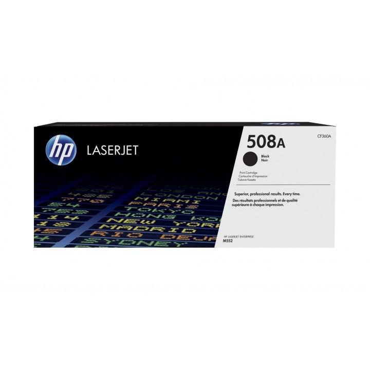 HP 508A Картридж для LaserJet M552/M553 (CF360A), 6000 стр. черный